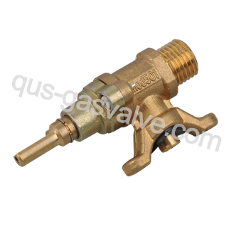 single nozzle brass Burner valve QUS-107A