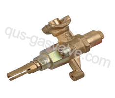 single nozzle brass Burner valve QUS-111A