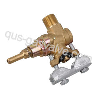 single nozzle brass  gas oven valve QUS-115A