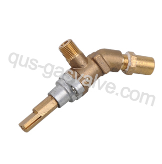 single nozzle brass Burner valve QUS-152A