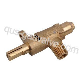 single nozzle brass gas valve QUS-201A
