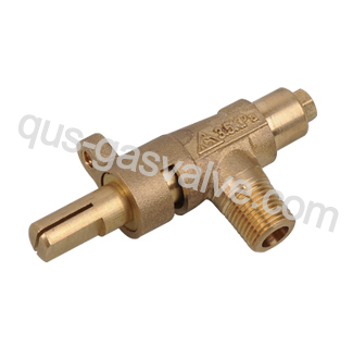 single nozzle brass gas valve QUS-201B