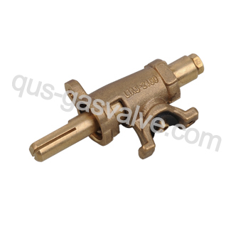 single nozzle brass gas valve QUS-203A