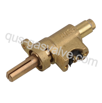 single nozzle brass gas valve QUS-209A