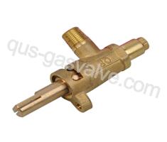 single nozzle brass gas valve QUS-212C