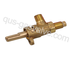 single nozzle brass gas valve QUS-215A