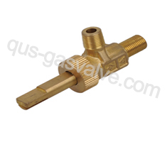 single nozzle brass gas valve QUS-218A