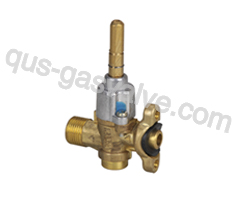 single nozzle brass  gas oven valve QS-117A
