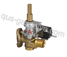 single nozzle brass  gas oven valve QS-119A