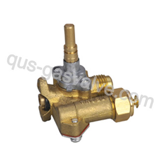 90° single gas control valve QS-427C